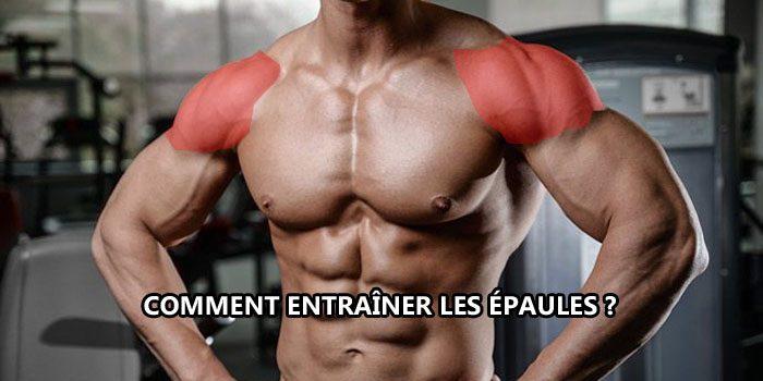 Comment entraîner les épaules ?